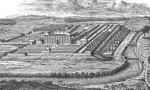 Ribston Hall from a woodcut in the seventeenth century
